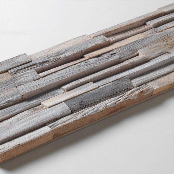 3D Scandanavian White Peel and Stick Wood Planks