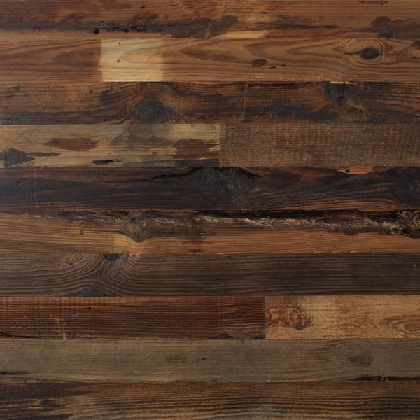 Reclaimed Rustic Brown Peel and Stick Wood Boards