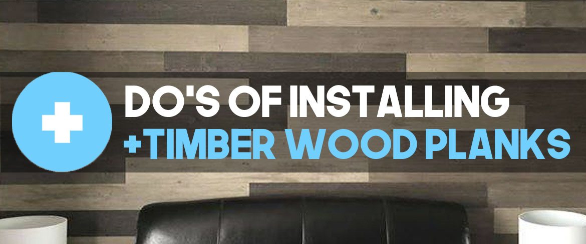 Top 4 MUST DO's: When installing +TIMBER peel and stick planks (diy hacks)