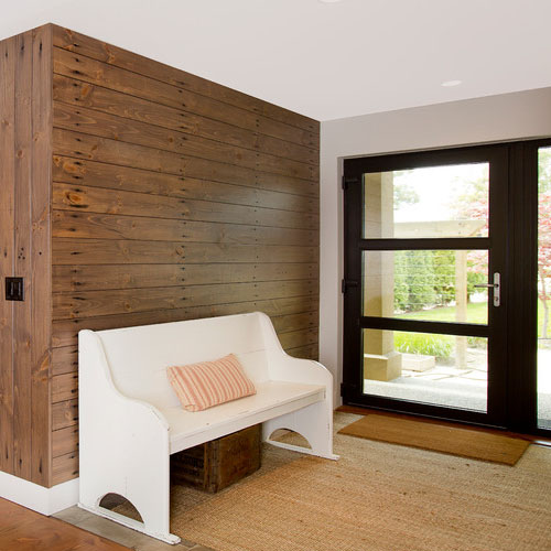Reclaimed Wood Entranceway